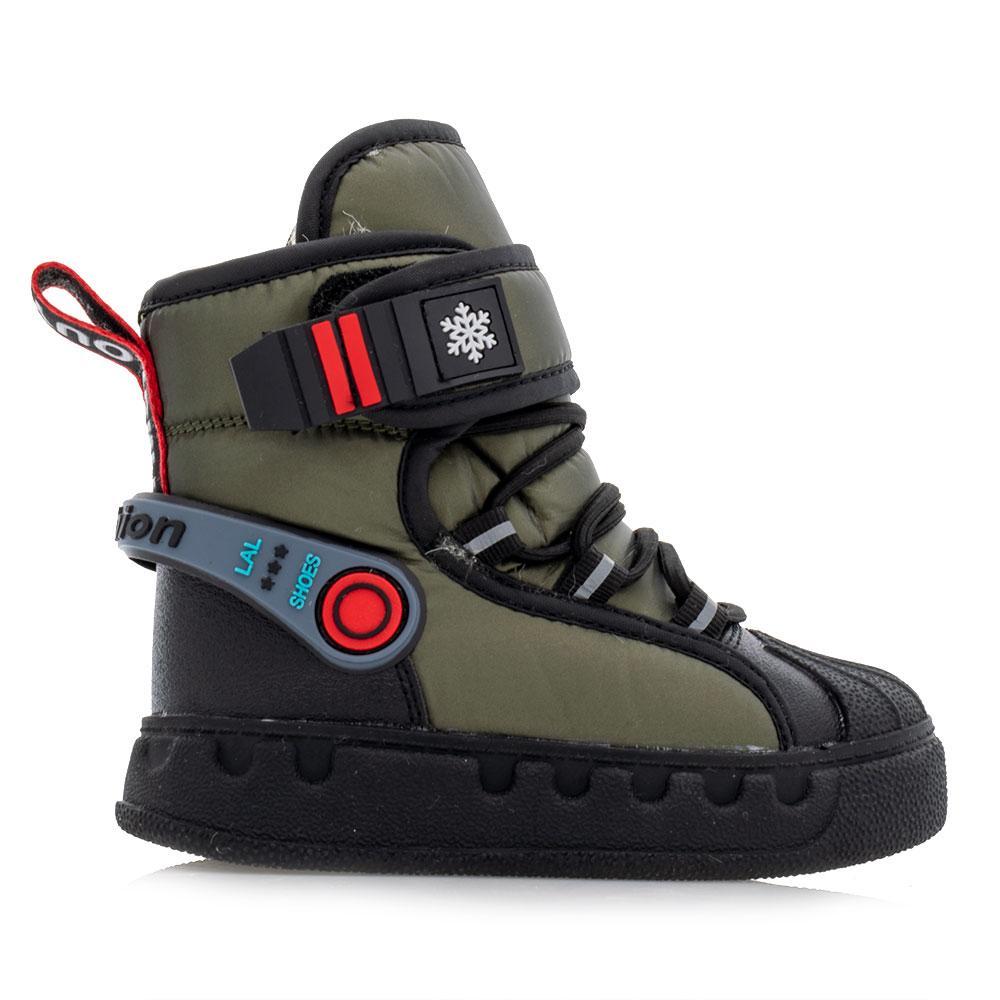 Ботинки зимние для мальчиков Bessky 26  зеленые 981246
