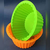 """Силиконовая форма для выпечки кексов и пирогов """"Корзинка"""""""