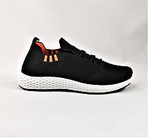 Кроссовки в Стиле Adidas Чёрные Сеточка Мужские Адидас (размеры: 41,42,43,44,45), фото 2