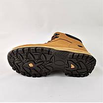 Ботинки ЗИМНИЕ Мужские Рыжие Кроссовки МЕХ Коричневые (размеры: 40,41,42,43,44,45), фото 2