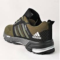Кроссовки Adidas Spring Хаки Мужские Адидас (размеры: 41,42,43,44,45,46) Видео Обзор, фото 3