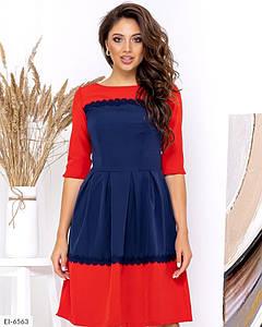 Платье EI-6563 в расцветках