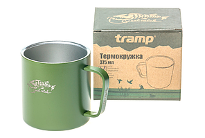 Термокружка Tramp TRC-098 375 мл Olive, фото 2