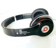 Беспроводные Блютуз Наушники Накладные Битс Bluetooth Мп3 Fm, фото 2
