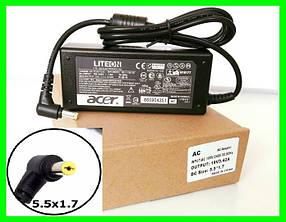 Блок Питания ACER 19v 3.42a 65W штекер 5.5 на 1.7 (ОРИГИНАЛ) Зарядка для Ноутбука