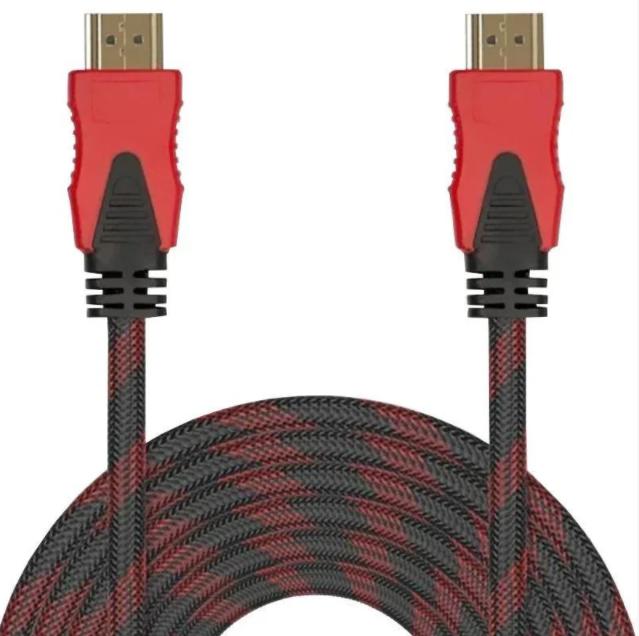 Кабель HDMI на HDMI 5 метра 1.4V Тканевая оплетка - 1369