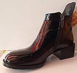 Ботинки молодежные деми из натуральной кожи от производителя модель КС2141, фото 2