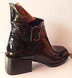 Ботинки молодежные деми из натуральной кожи от производителя модель КС2141, фото 5