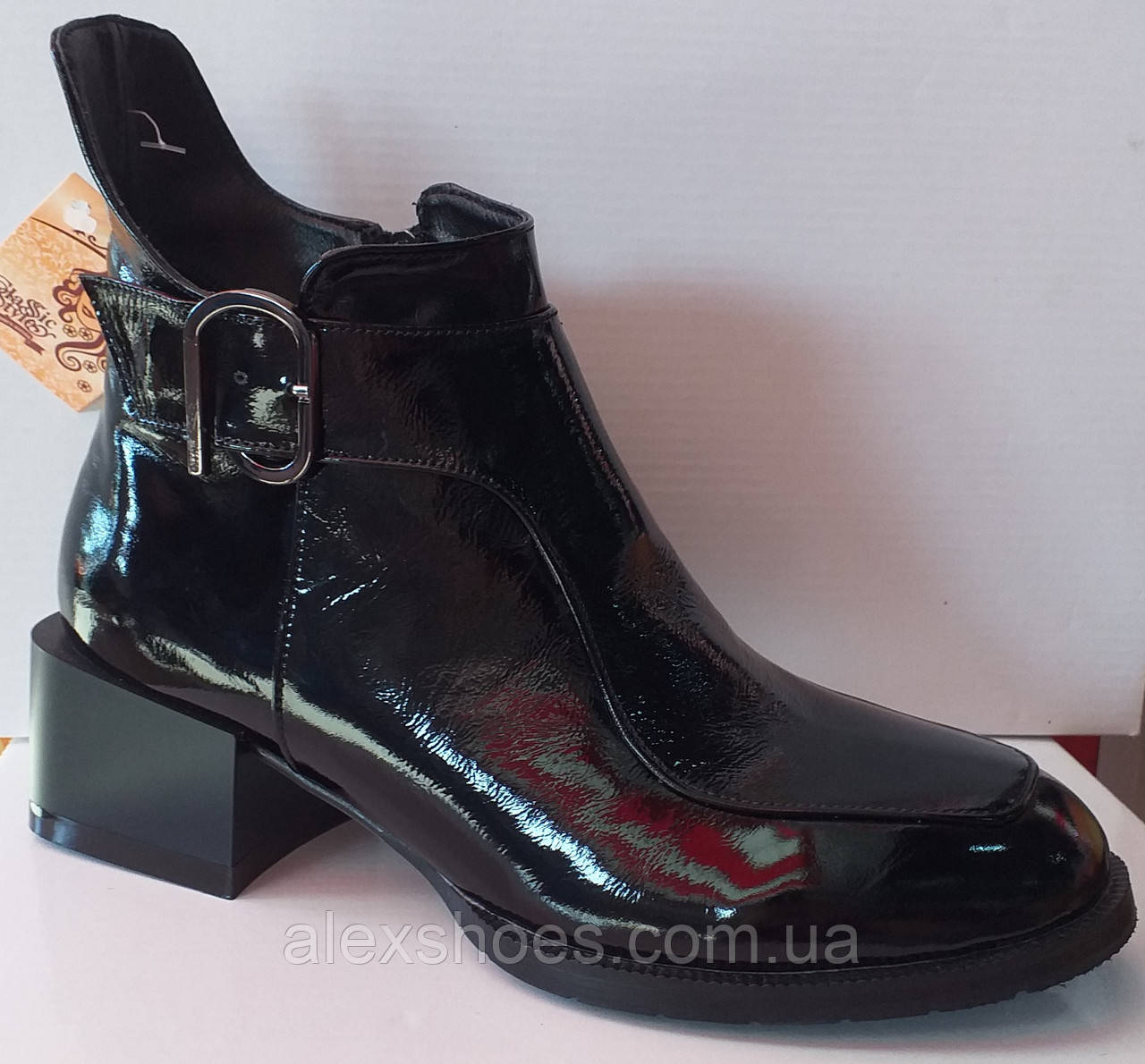 Ботинки молодежные деми из натуральной кожи от производителя модель КС2141