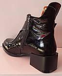 Ботинки молодежные деми из натуральной кожи от производителя модель КС2141, фото 3