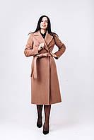 Длинное пальто халат бежевое O.Z.Z.E Д 327