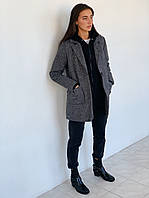 Модное женское короткое пальто
