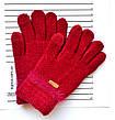 Детские одинарные перчатки с сенсорными пальчиками - длина 15 см, фото 4
