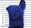 Детские одинарные перчатки с сенсорными пальчиками - длина 15 см, фото 6