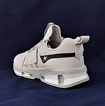 Кроссовки Мужские Adidas Серые Адидас (размеры: 41,42,43,44,45) Видео Обзор, фото 2