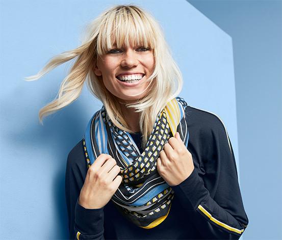 Стильный красивый снуд, шарф от тсм Tchibo (Чибо), Германия