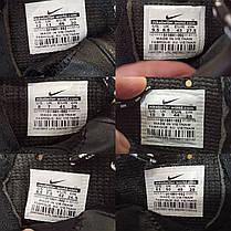 Чорні кросівки чоловічі nike roshe run копія демі демисезон еко шкіряні чорні кросівки демісезон, фото 3