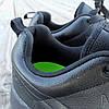 Чорні кросівки чоловічі nike roshe run копія демі демисезон еко шкіряні чорні кросівки демісезон, фото 5