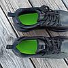 Чорні кросівки чоловічі nike roshe run копія демі демисезон еко шкіряні чорні кросівки демісезон, фото 6