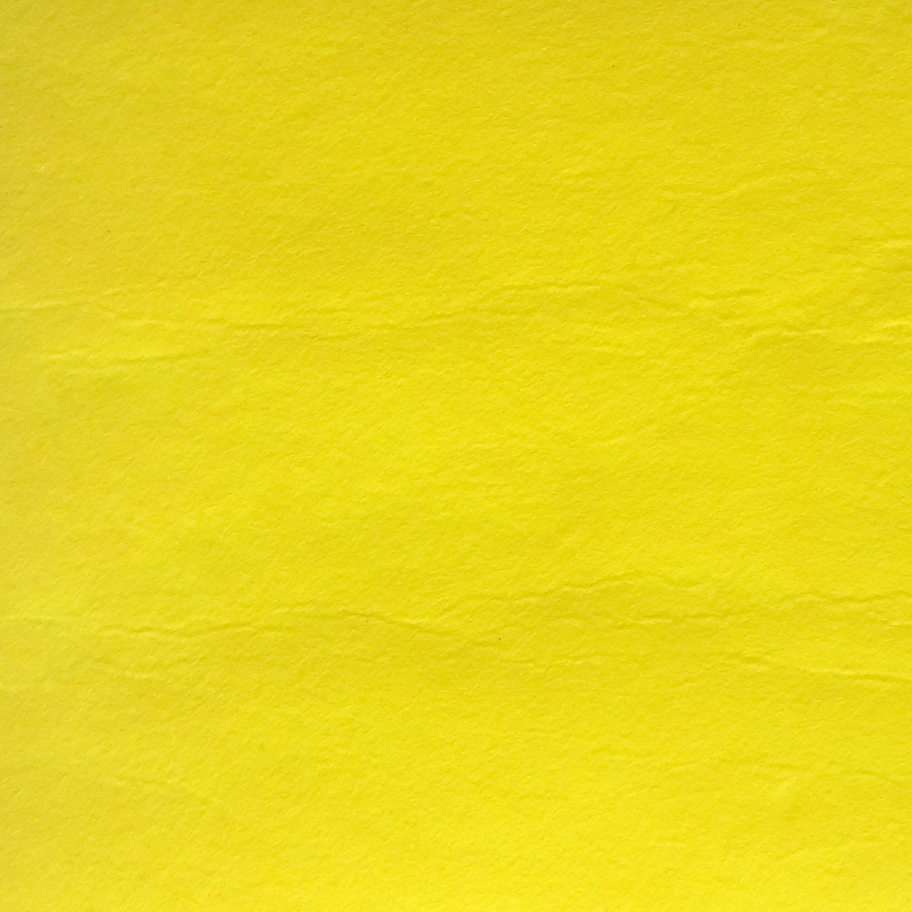 Фетр жесткий 1 мм, полиэстер, ЛИМОННЫЙ, 1 х 0.82 м, на метраж