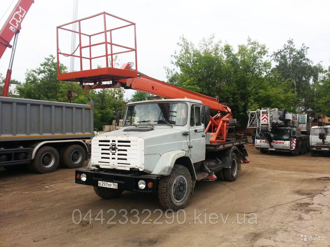 Аренда автовышки в Киеве