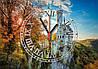 """Годинники настінні скляні """"Замок Ліхтенштайн"""", фото 2"""