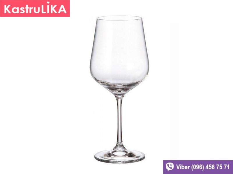 Бокалы для вина Bohemia Strix 360мл 6шт