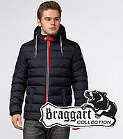 Braggart Aggressive 35228 | Зимняя мужская куртка т.синий-красный, фото 1