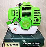 Мотокоса Craft-tec 3300 бензокоса, фото 5