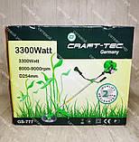 Мотокоса Craft-tec 3300 бензокоса, фото 10