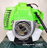 Мотокоса Craft-tec 3300 бензокоса, фото 3
