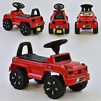 Машина-Толокар 809 V-10505 JOY (4) колір ЧЕРВОНИЙ, РОСІЙСЬКЕ ОЗВУЧЕННЯ, СВІТЛОВІ ЕФЕКТИ, багажник