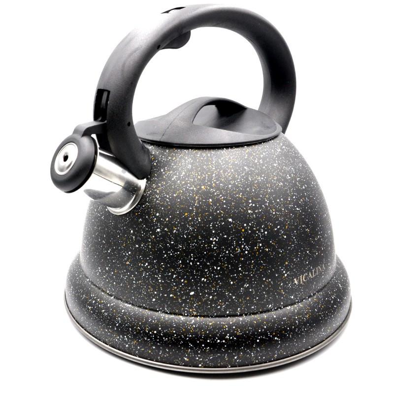 Чайник из нержавеющей стали со свистком на 3,2 литра VICALINA VL-0072