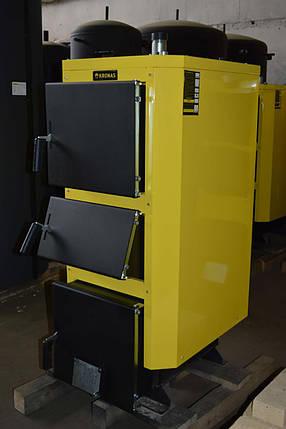 Котел на твердом топливе KRONAS UNIC New 75 кВт, фото 2