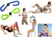 Тренажер эспандер Бабочка для тренировки мышц рук, ног, ягодиц, бедер, пресса, боковой части талии.
