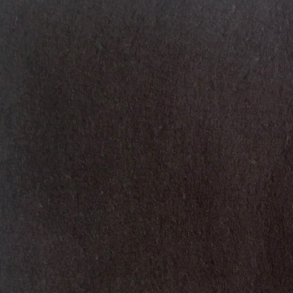 Фетр жесткий 1 мм, полиэстер, ЧЕРНЫЙ, 1 х 0.82 м, на метраж