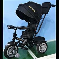 Велосипед Baby Trike 3-х колёсный с надувными колёсами фарой 6188
