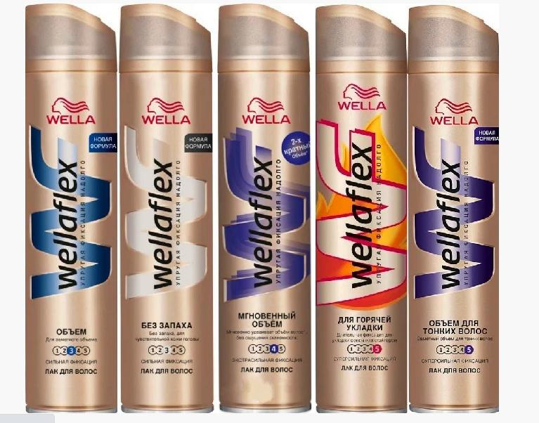 Лак для волос Wellaflex (250мл.)