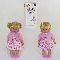 Кукла мягкотелая 00299-2 (18/2) 2 вида, 42 см, звуковые эффекты, в коробке