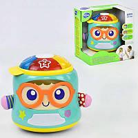 Музыкальная игра 3122 Счастливый младенец (12) звук, свет, движение, английская озвучка, в коробке