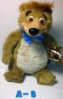 """Мягкая игрушка """"Медведь Бобу"""" м/ф Медведь Йоги А-8_34см"""