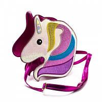 Сумка Единорог детская для девочек Cappuccino Toys CT2152.277 темно-розовая