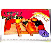 Набор деревянных продуктов C605