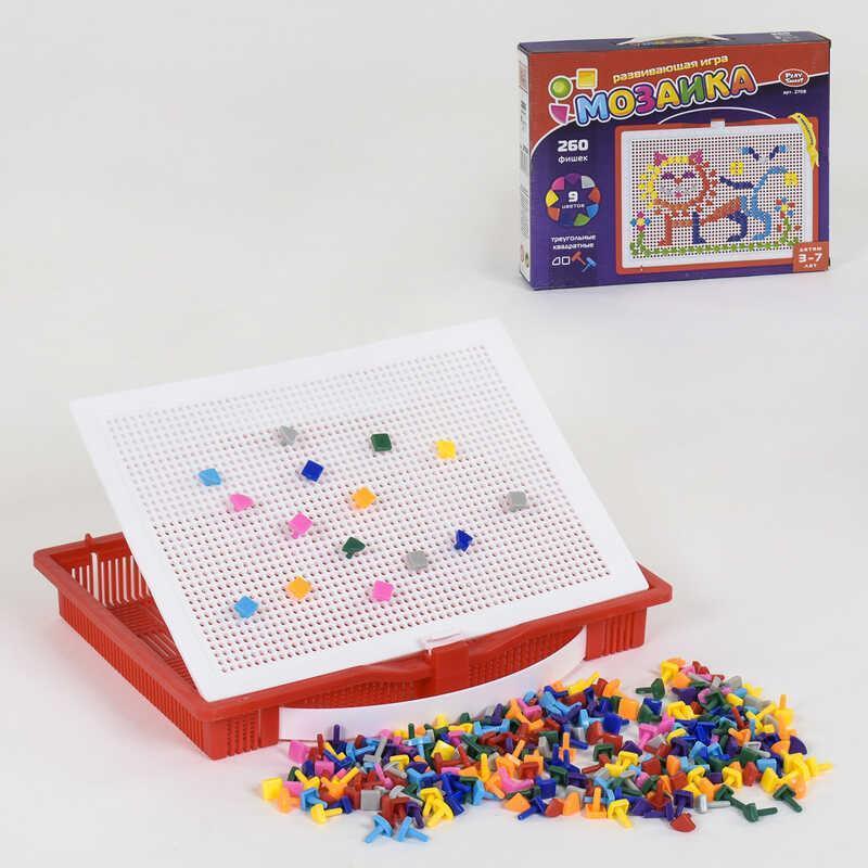 Мозаика 2708 (18/2) Play Smart, 260 фишек, в коробке