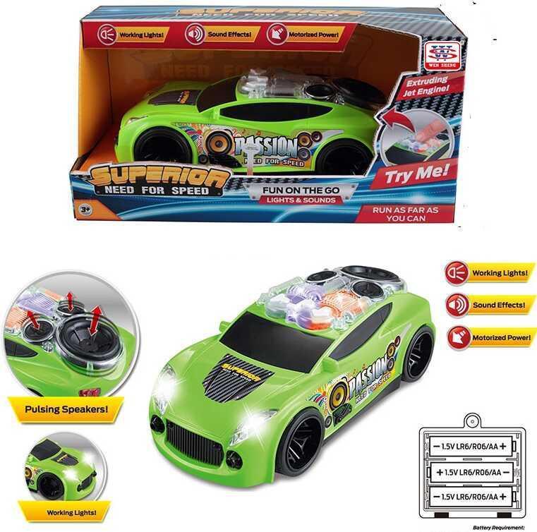 Машина WS 8973 (24/2) в коробке