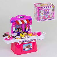 """Ігровий набір """"Магазин солодощів"""" 36778-98 (18) продукти на липучках, в коробці"""