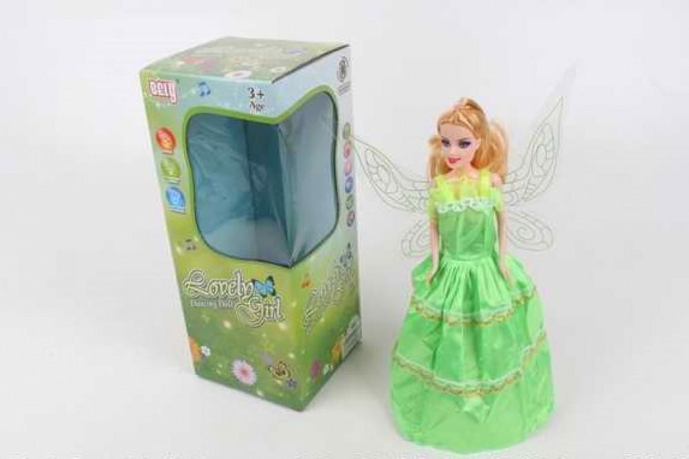 BL7726С Музична лялька з крилами.