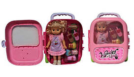 Лялька у валізі 8809-2