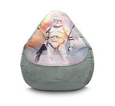 "Кресло мешок ""Star Wars. Stormtroopers 4"" Флок"