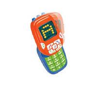 Муз разв.телефон Умка 0614-07 батар.,учит цифрам,буквам,в короб.